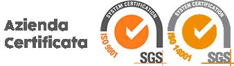 visualizza Certificati ISO 9001 e ISO 14001