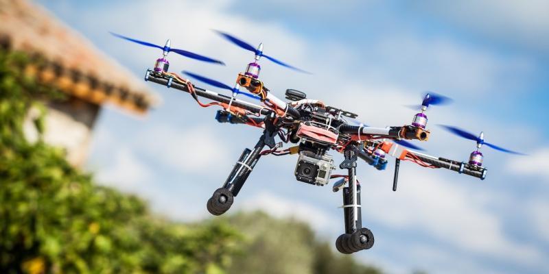 droni contro zanzare