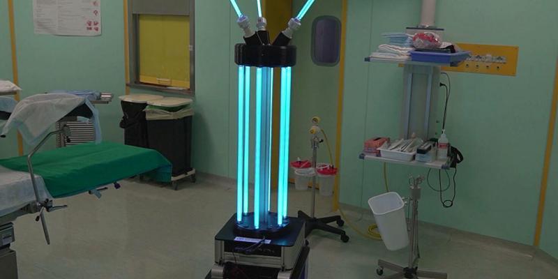 robot sanificazione covid 19